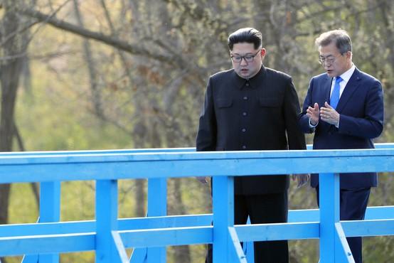 """Moon Jae-in: """"Ne rabim Nobelove. Naj jo ima Trump! Vse, kar potrebujemo, je mir."""""""