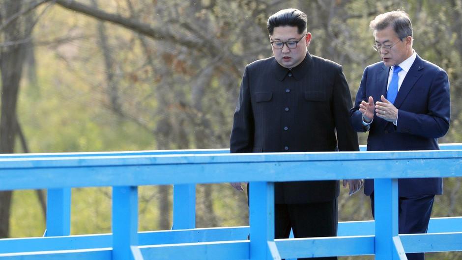 """Moon Jae-in: """"Ne rabim Nobelove. Naj jo ima Trump! Vse, kar potrebujemo, je mir."""" (foto: profimedia)"""