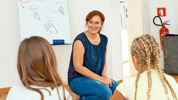 Lea Čerin: Učenje bi moralo biti s.u.p.e.r., s-sproščeno, u-učinkovito, p-pos pešeno, e-enostavno in r-radovedno (foto: Ines Ozmek)