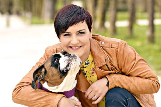Tanja Marentič Pirš: Življenje z nemškim bokserjem - prijateljem, ki je vedno na voljo za igro