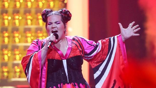 Na Evroviziji je zmagala izraelska predstavnica Netta s pesmijo TOY (foto: profimedia)