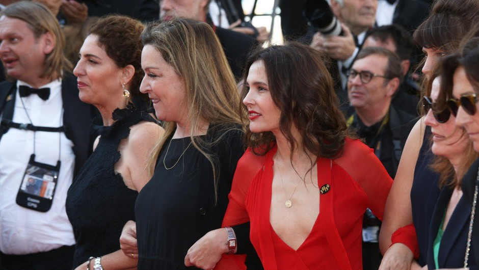 Ženske zahtevale enakopravnost na rdeči preprogi v Cannesu (foto: profimedia)