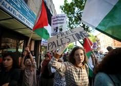 Po izjemno krvavih protestih na palestinskih ozemljih še splošna stavka!