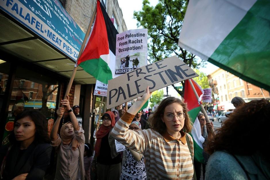 Po izjemno krvavih protestih na palestinskih ozemljih še splošna stavka! (foto: profimedia)