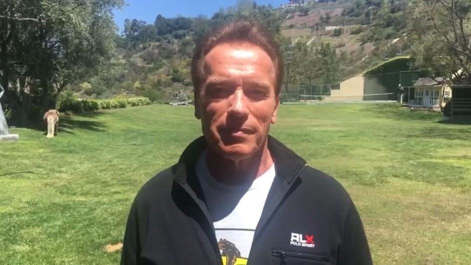 """Arnold Schwarzenegger: """"Naredimo ta planet ponovno velik in zdrav!"""" (foto: profimedia)"""