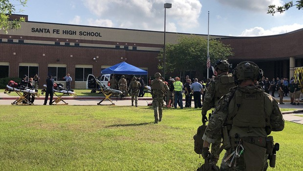 V streljanju na teksaški srednji šoli več mrtvih (foto: profimedia)