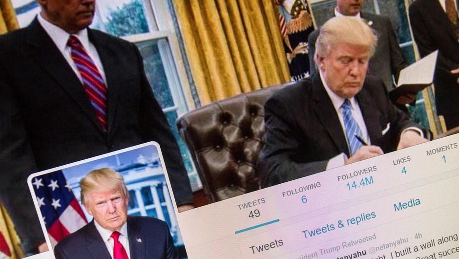 Predsednik Donald Trump ne sme blokirati kritikov na Twitterju! (foto: profimedia)