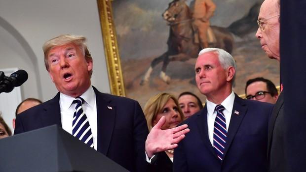 """Donald Trump: """"ZDA so pripravljene na vojno s Severno Korejo bolj kot kadarkoli prej."""" (foto: profimedia)"""