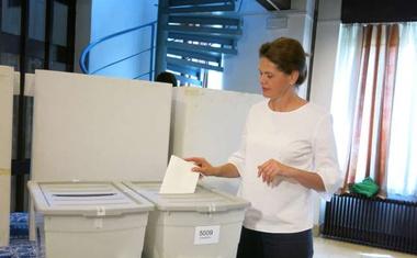 Izjave vidnejših prvakov strank tekom volilne nedelje!