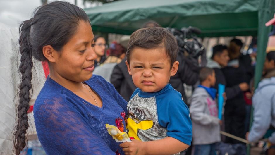 ZN obtožili ZDA resnih kršitev pravic otrok migrantov na meji (foto: profimedia)