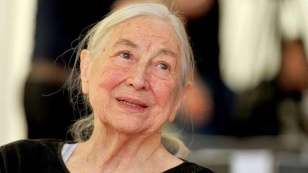 V 95. letu je odšla igralka Štefka Drolc (foto: Tamino Petelinšek/STA)