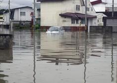 Na Japonskem zaradi obilnega dežja več kot 20 mrtvih in 50 pogrešanih