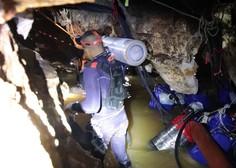 Zahtevno reševanje tajskih dečkov iz poplavljene jame!