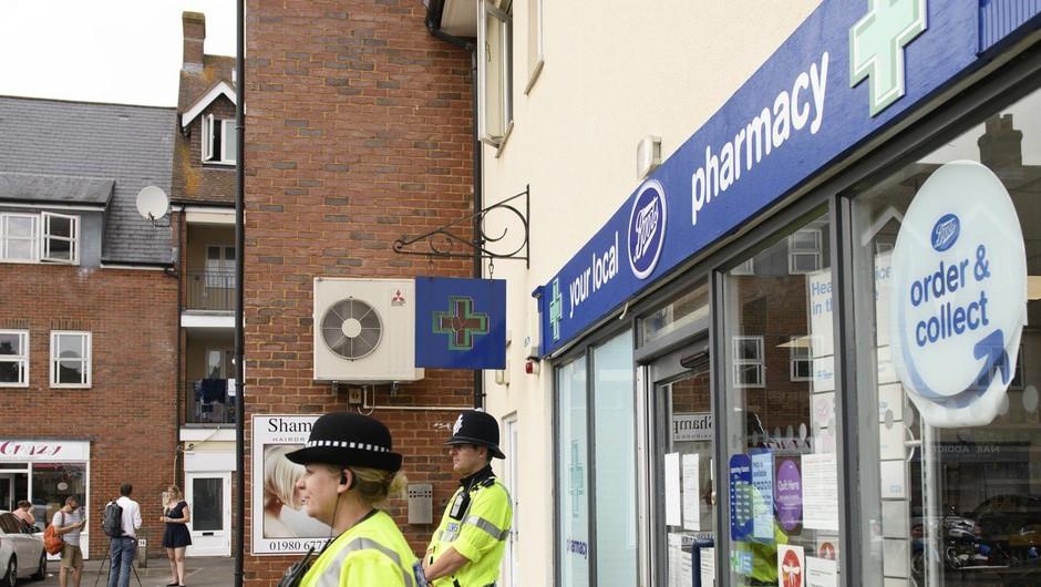 V Veliki Britaniji umrla ženska, zastrupljena z novičokom, moški še vedno v kritičnem stanju! (foto: profimedia)