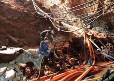 Na Tajskem iz jame rešili še osmega fanta, reševanje bodo nadaljevali v torek!