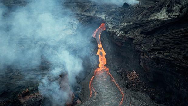 Na Havajih zaradi lave poškodovanih 23 turistov (foto: profimedia)