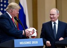 Trump v svetu vreden manj zaupanja kot Putin