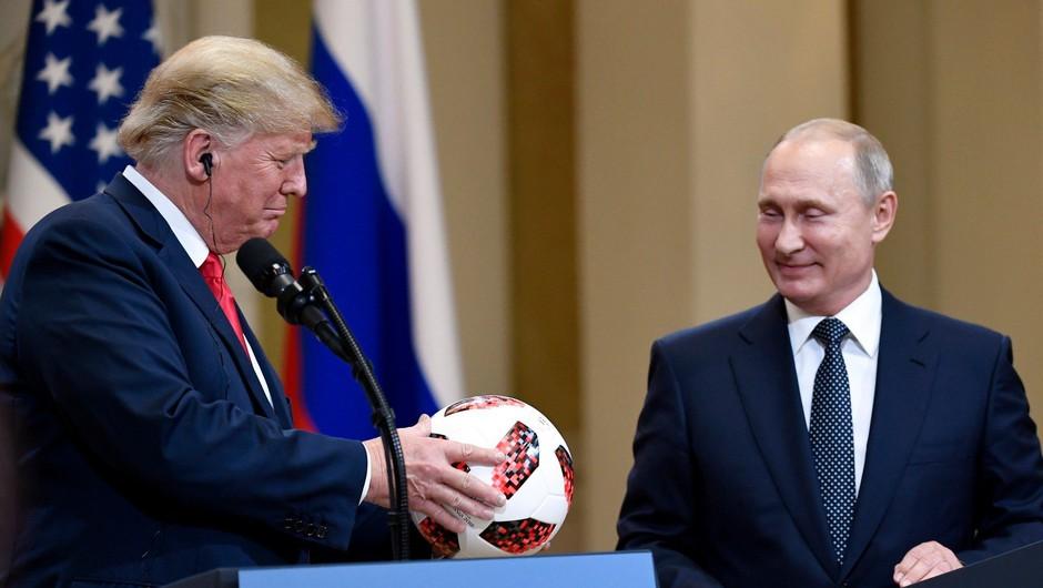 Trump v svetu vreden manj zaupanja kot Putin (foto: Profimedia)