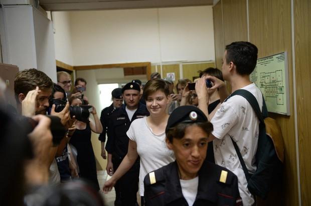 V Moskvi aretirali štiri člane feministične punk skupine Pussy Riot (foto: profimedia)