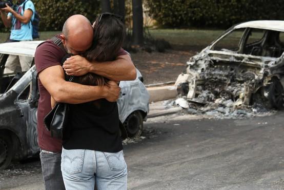 V Grčiji žalovanje za žrtvami požarov