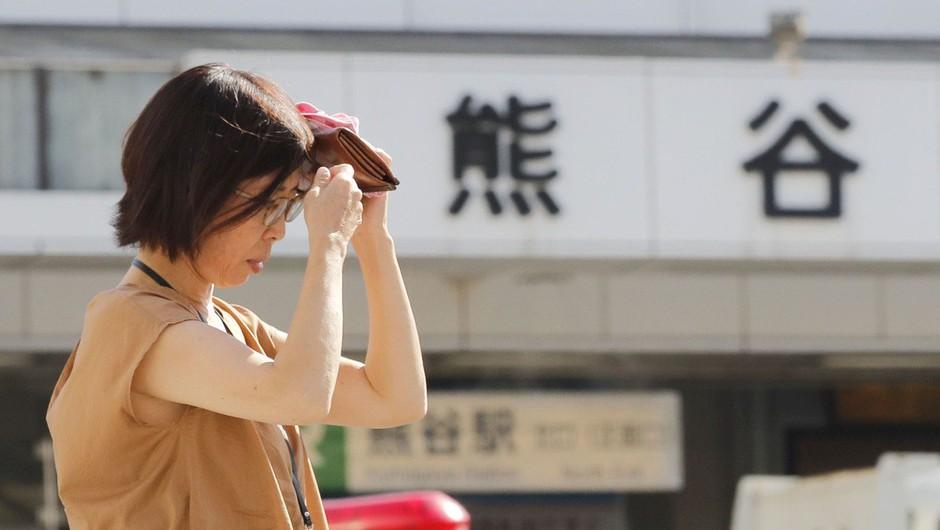 Japonska: Zaradi hude vročine umrlo 65 ljudi (foto: Profimedia)