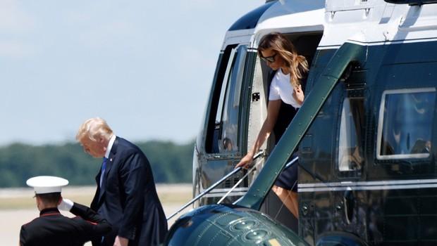 Melania Trump v Tennesseeju obiskala otroke odvisnikov od mamil (foto: profimedia)