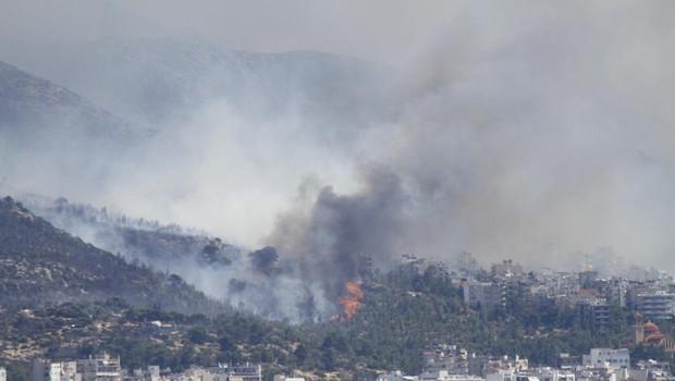 Število žrtev požarov v Grčiji se je povzpelo na 88 (foto: Profimedia)