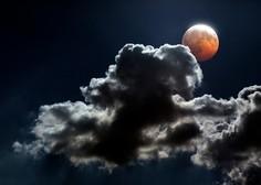 Po vsem svetu so bile oči uprte v nebo k bakreno rdeči Luni