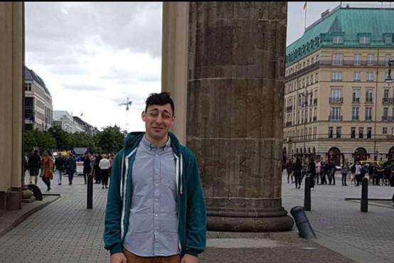 Pogrešan 25-letni ameriški državljan Jonathan Reid Luskin je bil na poti v Ljubljano!