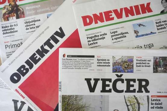 Časnika Večer in Dnevnik vložila vlogo za soglasje o njuni združitvi!