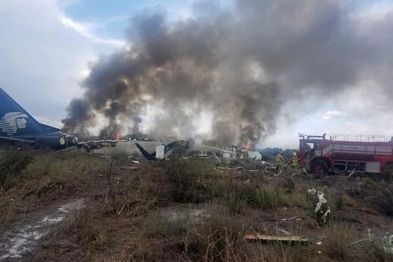 Mehika: V letalski nesreči 49 ranjenih