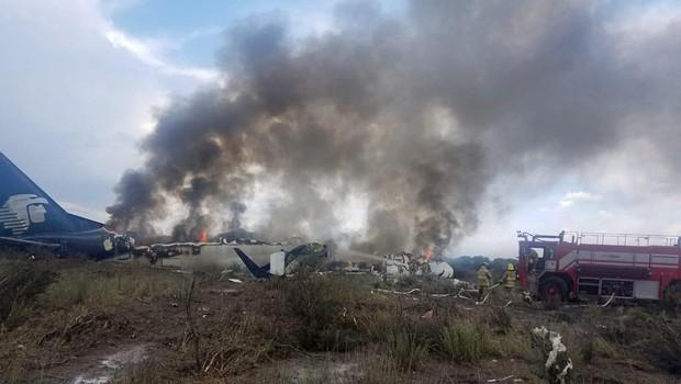 Mehika: V letalski nesreči 49 ranjenih (foto: Profimedia)
