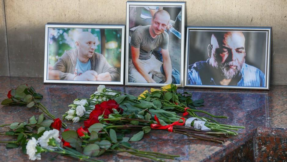 V Srednjeafriški republiki umorili tri ruske novinarje, ki so snemali dokumentarec o ruskih plačancih (foto: profimedia)