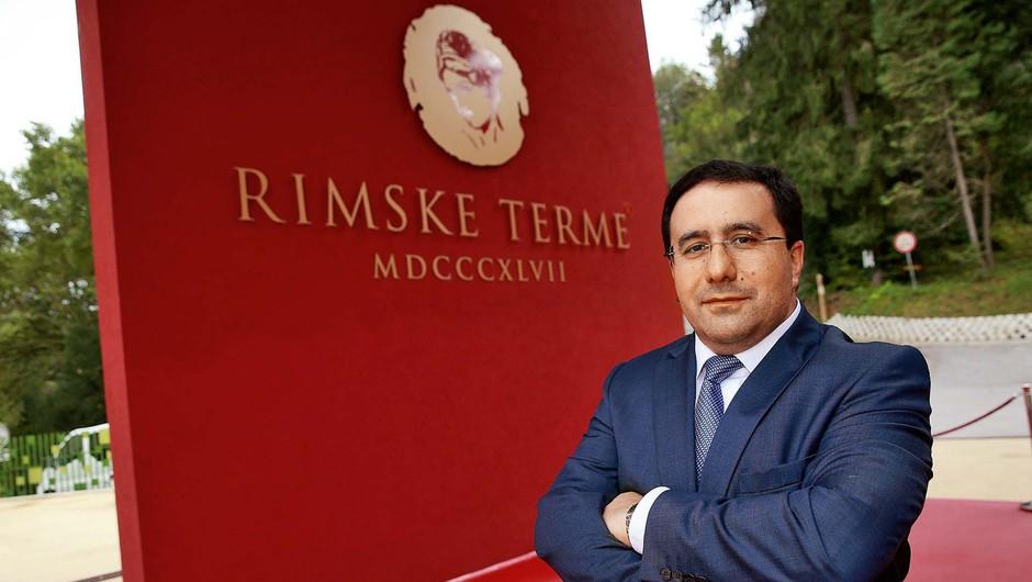Valery Arakelov: Rimske terme imajo vse, kar potrebuje petičen gost (foto: Aleš Erjavec)