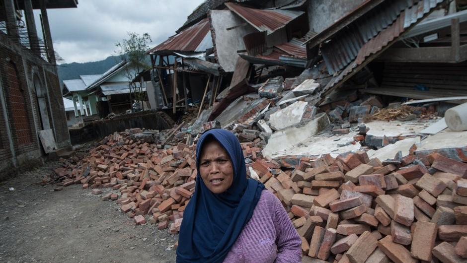Indonezija: V potresu najmanj 142 mrtvih (foto: Profimedia)