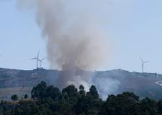 V gozdnem požaru na Portugalskem 24 ranjenih
