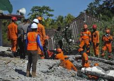 Popotresni Lombok: število žrtev narašča, reševanje in pomoč zaradi uničenih cest oteženo