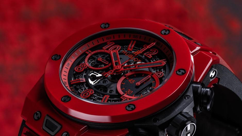 Hublot ponosno predstavlja novo uro Big Bang Unico Red Magic (foto: Hublot)