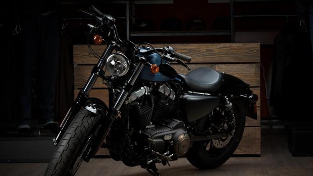 Sreči je ime Harley-Davidson! (foto: Jani Nendl)