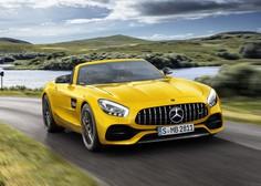 Mercedes-AMG GT S roadster - krasna trikraka zvezda