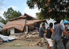 Sveže številke: potres na indonezijskem otoku Lombok je terjal več kot 400 življenj