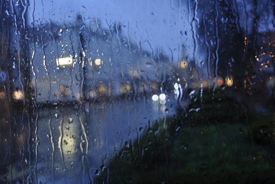 Dež povzročil nevšečnosti v Ljubljani