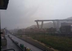 Genova: V zrušenju cestnega viadukta umrlo najmanj 35 ljudi