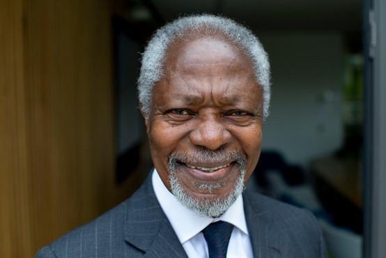 V Švici je po krajši bolezni danes umrl nekdanji generalni sekretar ZN Kofi Annan