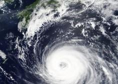 Japonsko je dosegel najmočnejši tajfun v zadnjih 25 letih