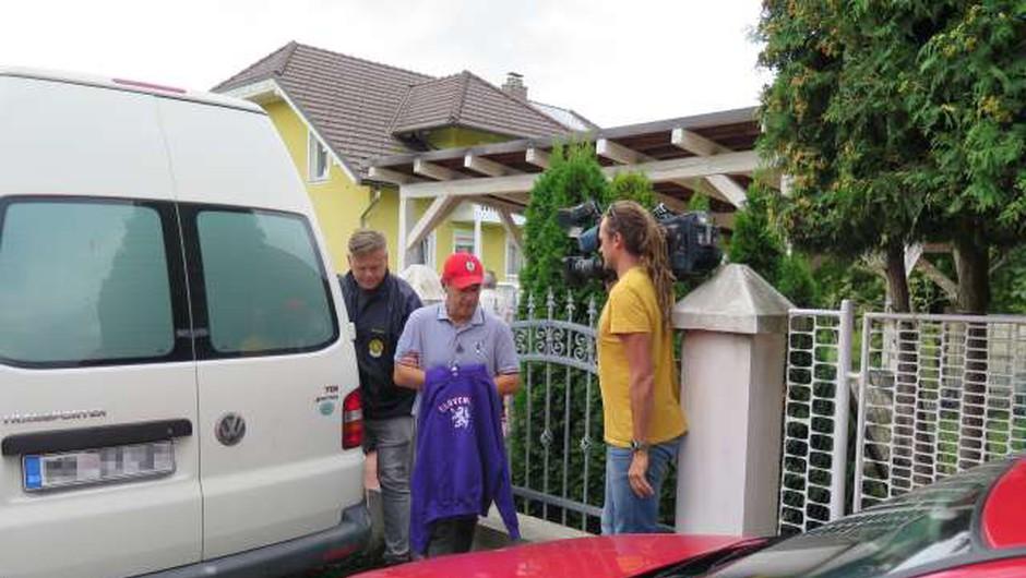 Andrej Šiško še vedno v pridržanju zaradi zadeve Štajerska varda (foto: Andrej Seršen Dobaj/STA)