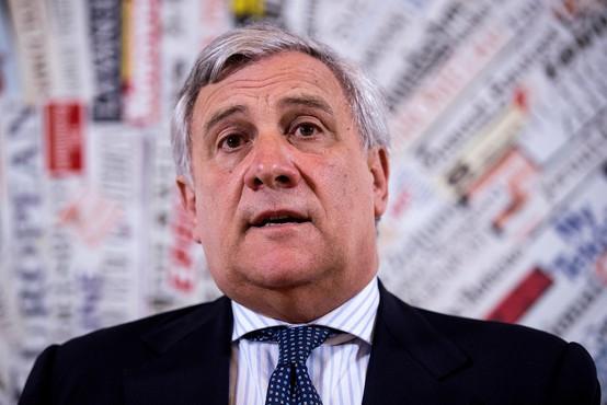 Antonio Tajani bo visoko evropsko pokojnino daroval v centru za odvajanje od drog