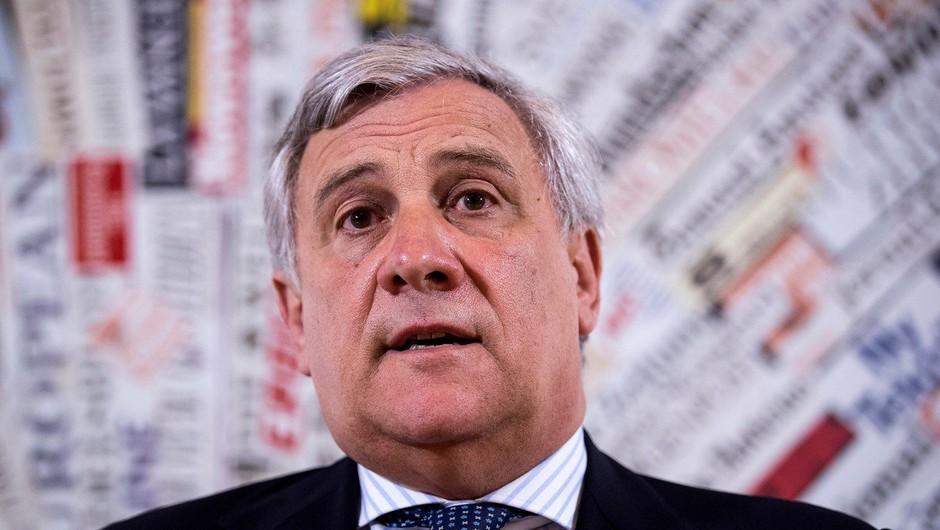 Antonio Tajani bo visoko evropsko pokojnino daroval v centru za odvajanje od drog (foto: profimedia)