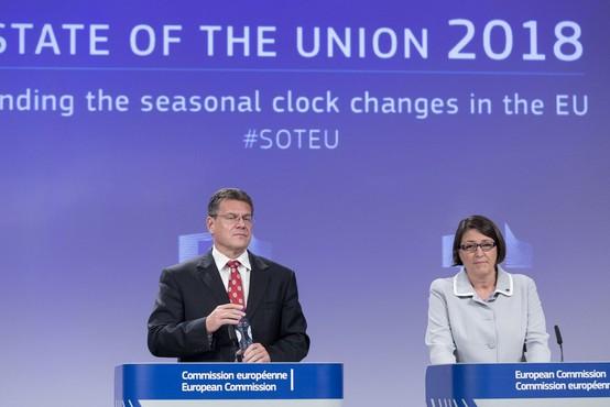Premikanje ure: Slovenci bolj naklonjeni poletnem času