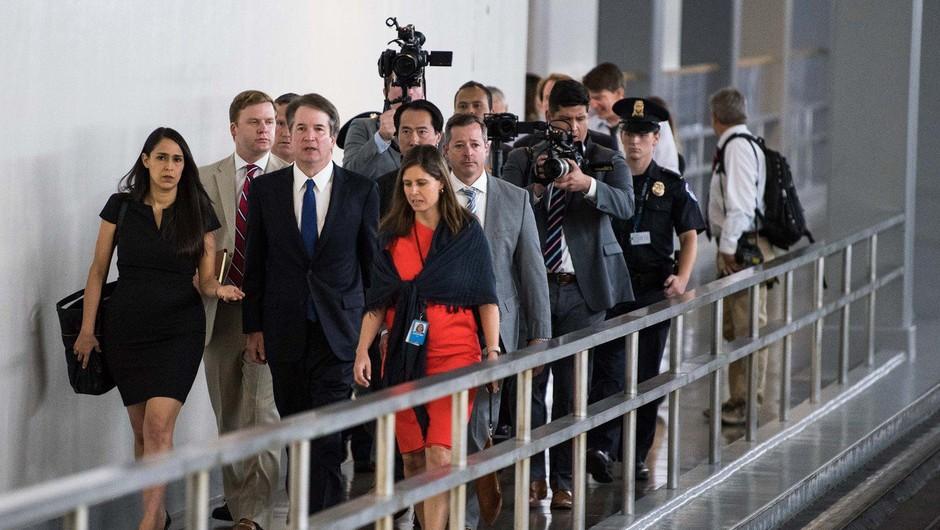 Trumpov kandidat za vrhovnega sodnika v primežu ogorčene javnosti (foto: profimedia)